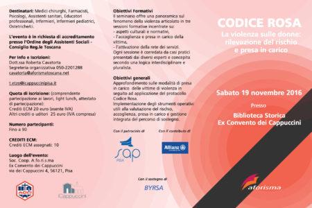 locandina codice rosa